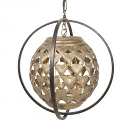 Lampa Sufitowa Liście D Clayre & Eef