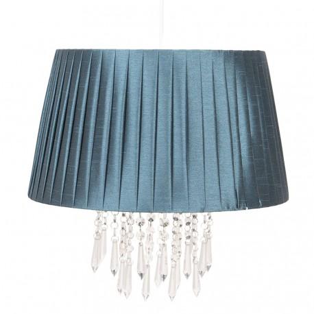 Lampa Sufitowa Plisowana Ciemna