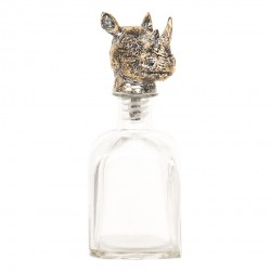 Butelka Ozdobna z Korkiem Nosorożec