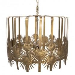 Lampa Sufitowa Liście Palmowe A Clayre & Eef