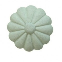 Gałka Meblowa Kwiatek Chic Antique Szara