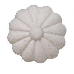 Gałka Meblowa Kwiatek Chic Antique Kremowa