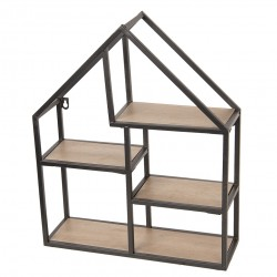 Półka Ścienna Loft Domek