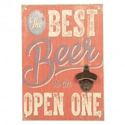 Obrazek Retro Piwo z Otwieraczem B
