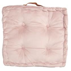 Poduszka Na Krzesło Pikowana Różowa