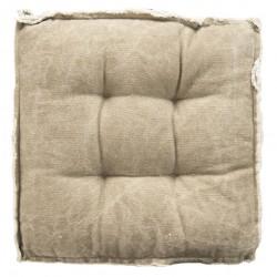 Poduszka Na Krzesło Pikowana Beżowa
