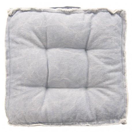 Poduszka Na Krzesło Pikowana Niebieska