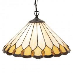Lampa Tiffany Witrażowa B