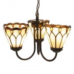 Lampa Tiffany Potrójna A