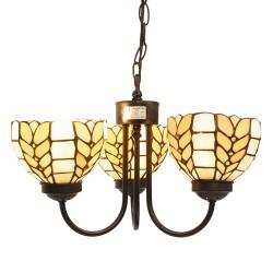 Lampa Tiffany Potrójna B