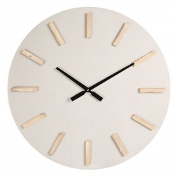 Szary Zegar Ścienny Bez Cyfr A