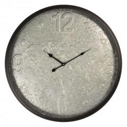 Metalowy Zegar z Mapą