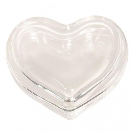 Szklany Pojemnik Na Biżuterię Serce