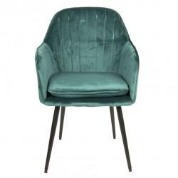 Krzesło w Stylu Skandynawskim Zielone