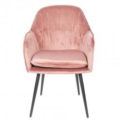 Krzesło w Stylu Skandynawskim Różowe