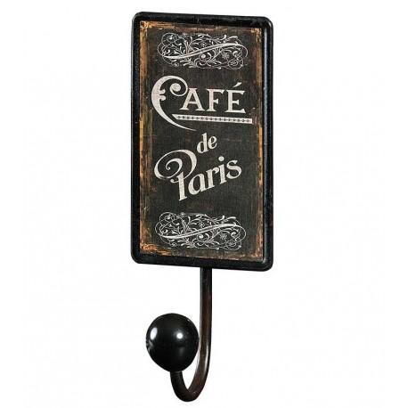 Wieszak Retro Cafe de Paris