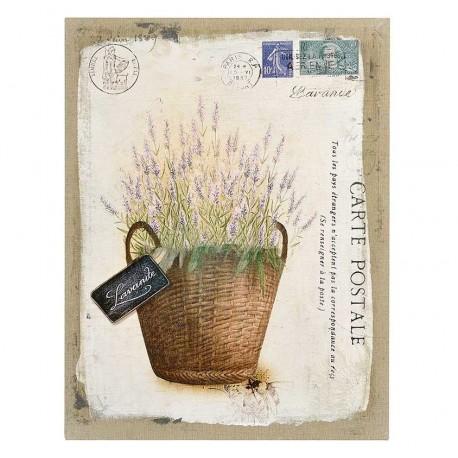 Piękny obrazek z motywem lawendy w prowansalskim stylu