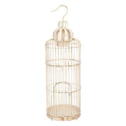 Ozdobna Klatka Dla Ptaków w Stylu Prowansalskim A