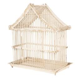 Ozdobna Klatka Dla Ptaków w Stylu Prowansalskim C
