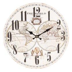 Zegar z Mapą Świata B