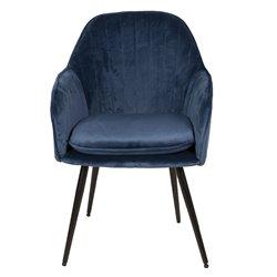 Krzesło w Stylu Skandynawskim Granatowe