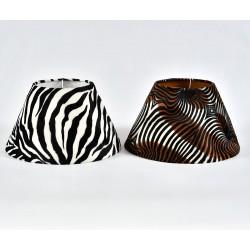 Abażur Belldeco Stożek Duży Zebra