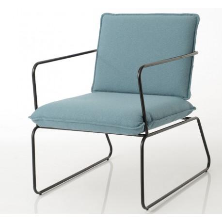 Fotel Loft Niebieski
