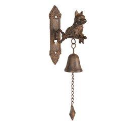 Dzwonek Ozdobny z Pieskiem Clayre & Eef