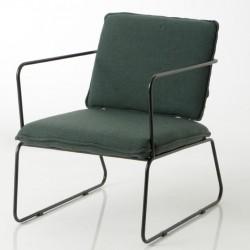 Fotel Loft Zielony