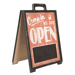 Tabliczka Open/Closed w Stylu Retro Clayre & Eef