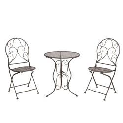 Meble Ogrodowe Prowanalskie Stolik z Krzesłami 11
