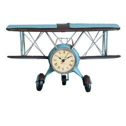 Clock airplane