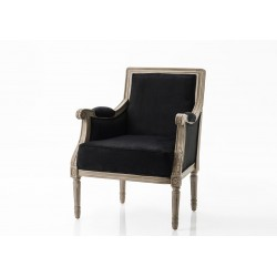 Fotel w Stylu Prowansalskim Beżowy B