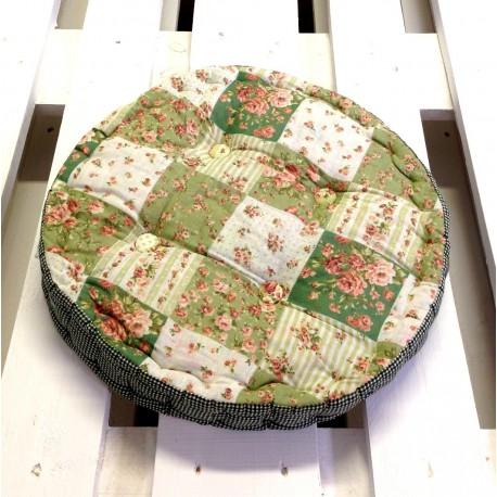 Okrągłe Poduszki Na Krzesła 2 Lawendowy Kredens