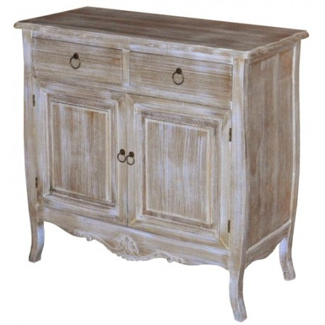 Komoda prowansalska z szafką i szufladami to mebel, który chętnie jest wykorzystywany do aranżacji salonów.