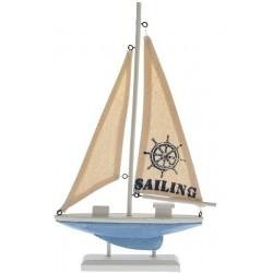 Model Łódki Drewniany B