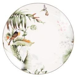 Talerze Porcelanowe Dżungla