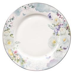 Talerze w Stylu Prowansalskim w Kwiaty A Clayre & Eef