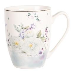 Kubki w Stylu Prowansalskim w Kwiaty A
