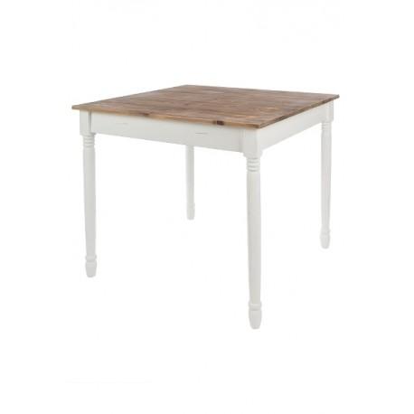 Kwadratowy Stół w Stylu Prowansalskim