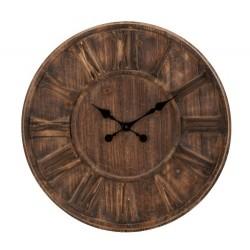 Drewniany Zegar w Stylu Rustykalnym