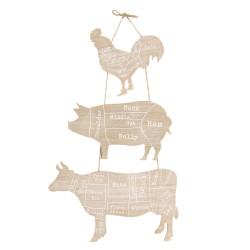 Dekoracja Ścienna Prowansalska Farma