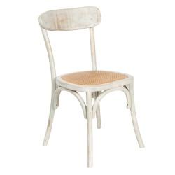 Krzesło w Stylu Prowansalskim Postarzane Clayre & Eef