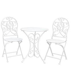 Meble Ogrodowe Prowanalskie Stolik z Krzesłami 18