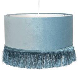 Lampa z Frędzelkami Niebieska Clayre & Eef
