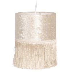 Lampa z Frędzelkami Kremowa Clayre & Eef