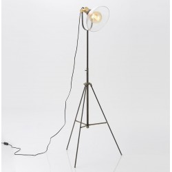 Lampa Podłogowa w Stylu Industrialnym F