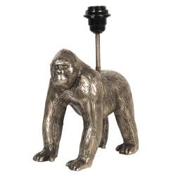 Złota Lampa Stołowa Goryl