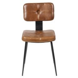 Krzesło Loft Ekoskóra B