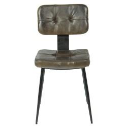 Krzesło Loft Ekoskóra C